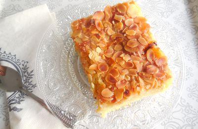 Mon gâteau aux pommes façon croissant aux amandes