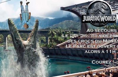 Invitation 9 ans Mini loup : Jurassic World
