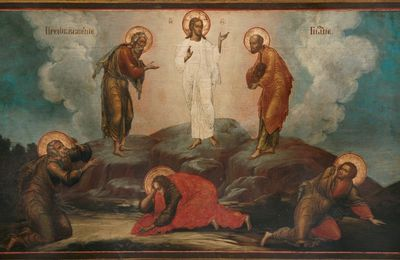 Evangile du dimanche 6 aout  -  La Transfiguration du Seigneur