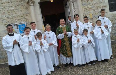 Rentrée de l'École des Servants de Messe de Villars (ESMV)