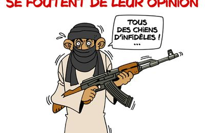 Les caricatures de Mahomet en question