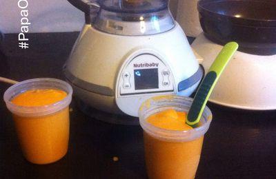 [NutriRecette] Repas du soir : lait semoule-carotte (par Maman Online !)