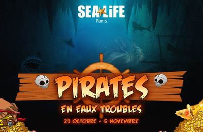 [Sortir] Les pirates s'emparent de SEA LIFE Paris à l'occasion d'Halloween