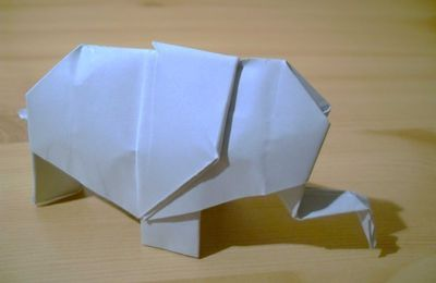 Origami - Diagrammes Troisième Partie (Pliages divers)(Seconde section)