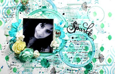 "Page ""Sparkle""+ video DT Die Cuts and More"