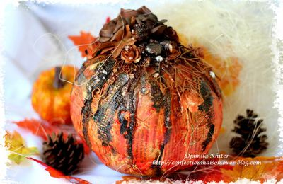 Citrouille d'Halloween :Dt SnipArt