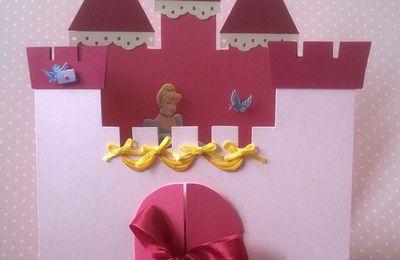 Une carte pour une petite princesse