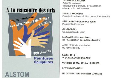 Salon des artistes lorrains : Serge Herbuvaux