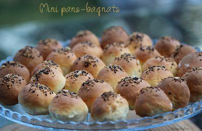 Mini Pans-bagnats pour vos apéritifs