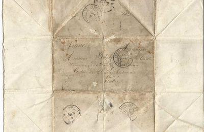 BROCHET Julien : Lettre (28/07/1855) à Sébastopol (Crimée)