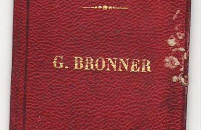 BRONNER Georges (17/02/1880) à Paris (75)