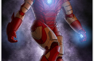Iron Man en couleurs !