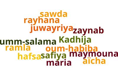 Noms et histoire des épouses du prophète