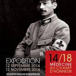 Exposition 14/18, médecine au champ d'honneur