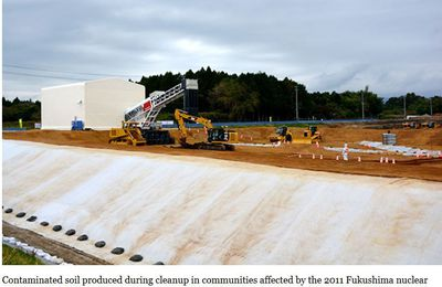 Beginning of official storage of contaminated soil