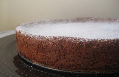 Gâteau chocolat-ricotta