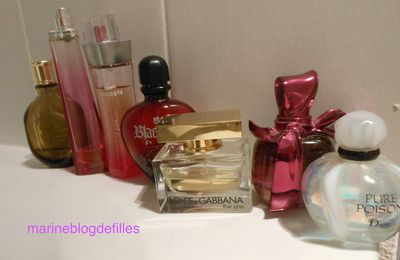 Ma collection de Parfums