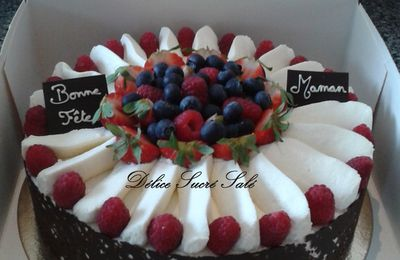 Entremet Fruit Rouge