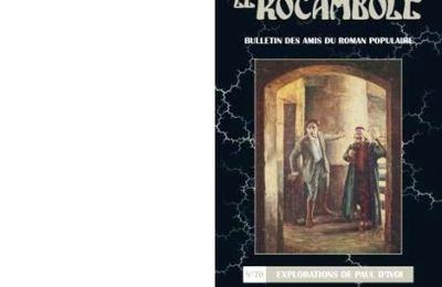 La revue Rocambole N°70 : Dossier Paul d'Ivoi. Explorations de Paul d'Ivoi.