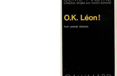 Janine ORIANO : O.K. LEON !