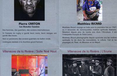 """Photographie : """"Regards"""" à Villeneuve/rivière - La photo selon Walter Benjamin : Atget…-Musique : Pedro Soler - Festival de Vernet/Bains"""
