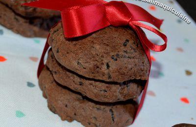 Cookies triple chocolat
