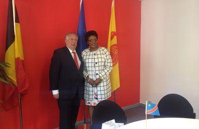 Rencontre avec la Ministre congolaise du Genre, de la Famille et de l'Enfant