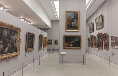 LOUVRE - Aile Sully salles des peintures françaises du 17e siècle