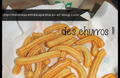 .. Des chichis ou churros ..