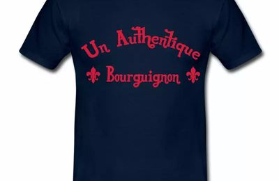 T Shirt Bourgogne Authentique Bourguignon HBM