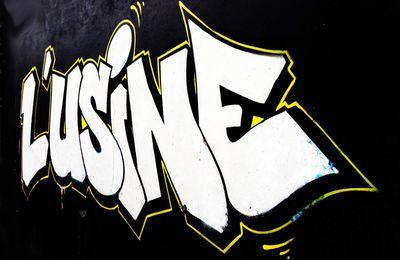 Huit street-artistes à l'Usine