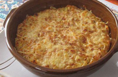 Ecrasé de pommes de terre/carottes façon brandade