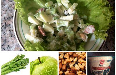 Ensalada de apio y manzanas
