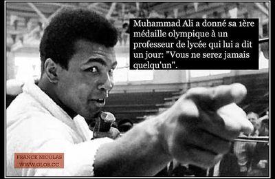 Une leçon de Mohamed Ali