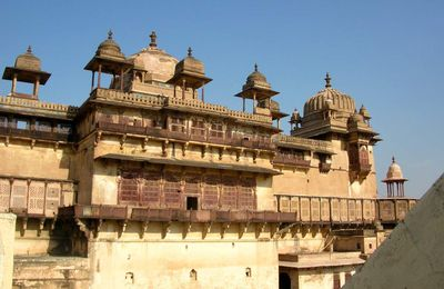 INDE nord Rajasthan   Fort Orchha