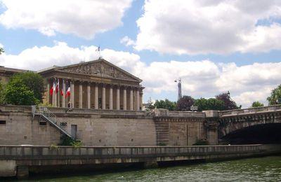 Paris en bateau mouche