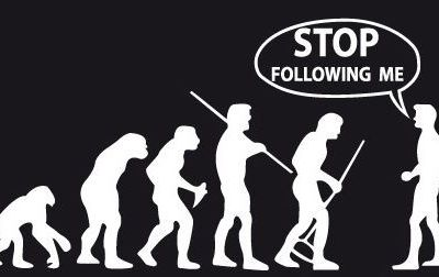 STOP FOLLOWING ME. THIS IS MY RIGHT!