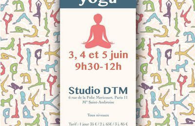 Stage de yoga 3 jours - WE de la Pentecôte