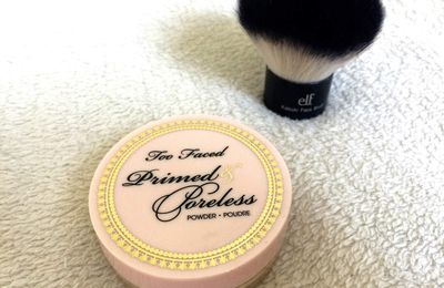 Revue: Poudre Primed & Poreless de Too Faced