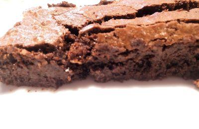 Gâteau au chocolat et au caramel