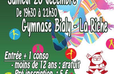 Soirée Zumba organisée par Celtic La Riche Basket le 20 décembre