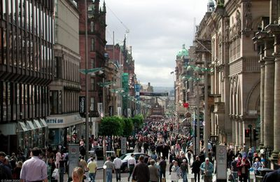 GLASGOW en Ecosse : plus importante ville du pays en population - capitale économique - Webcam