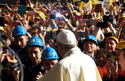 « Sans travail on peut survivre, mais pour vivre on a besoin de travail » (Pape François)
