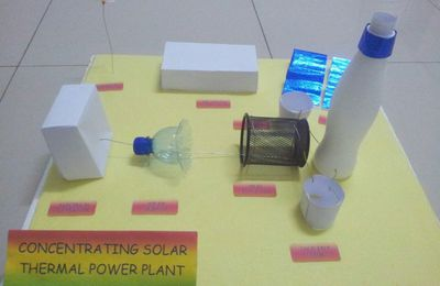 DESIGN OF CONCENTRATING SOLAR THERMAL POWER PLANT