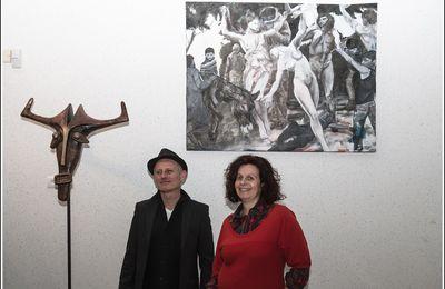 Expo de peintures et sculptures Sophie Moraine et Eric Jonval