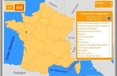 Révise la géographie de France par le jeu