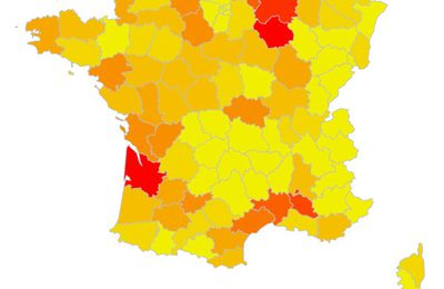 Carte Pollution Bordeaux.Pollution Des Sols La Carte De France Interactive Chroniques