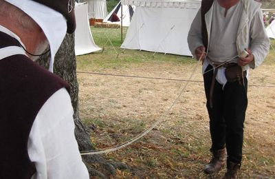 fabrication d'une corde d'arc