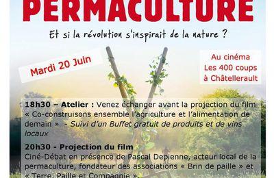 Ciné-débat L'éveil de la permaculture - Mardi 20 juin