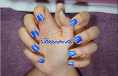 "Vernis ""blue haven"" d idb"